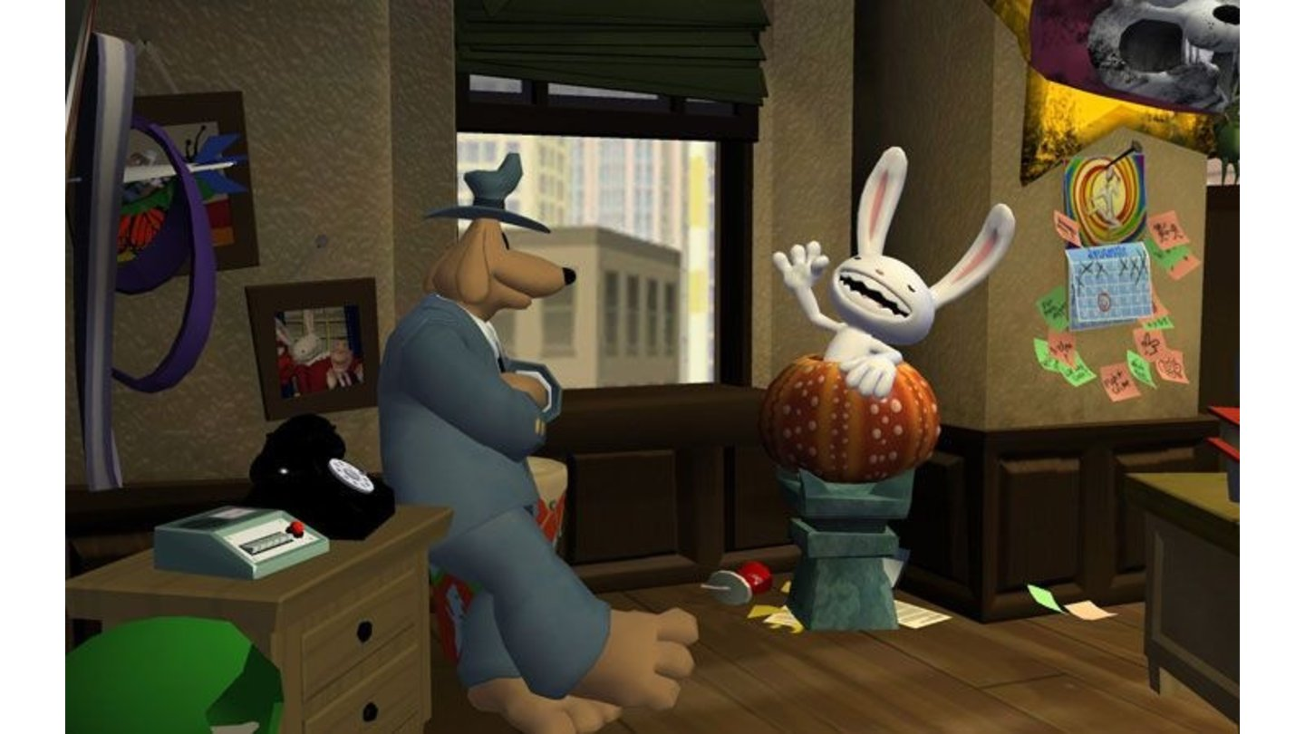 Sam & Max: Night of the Raving Dead 7