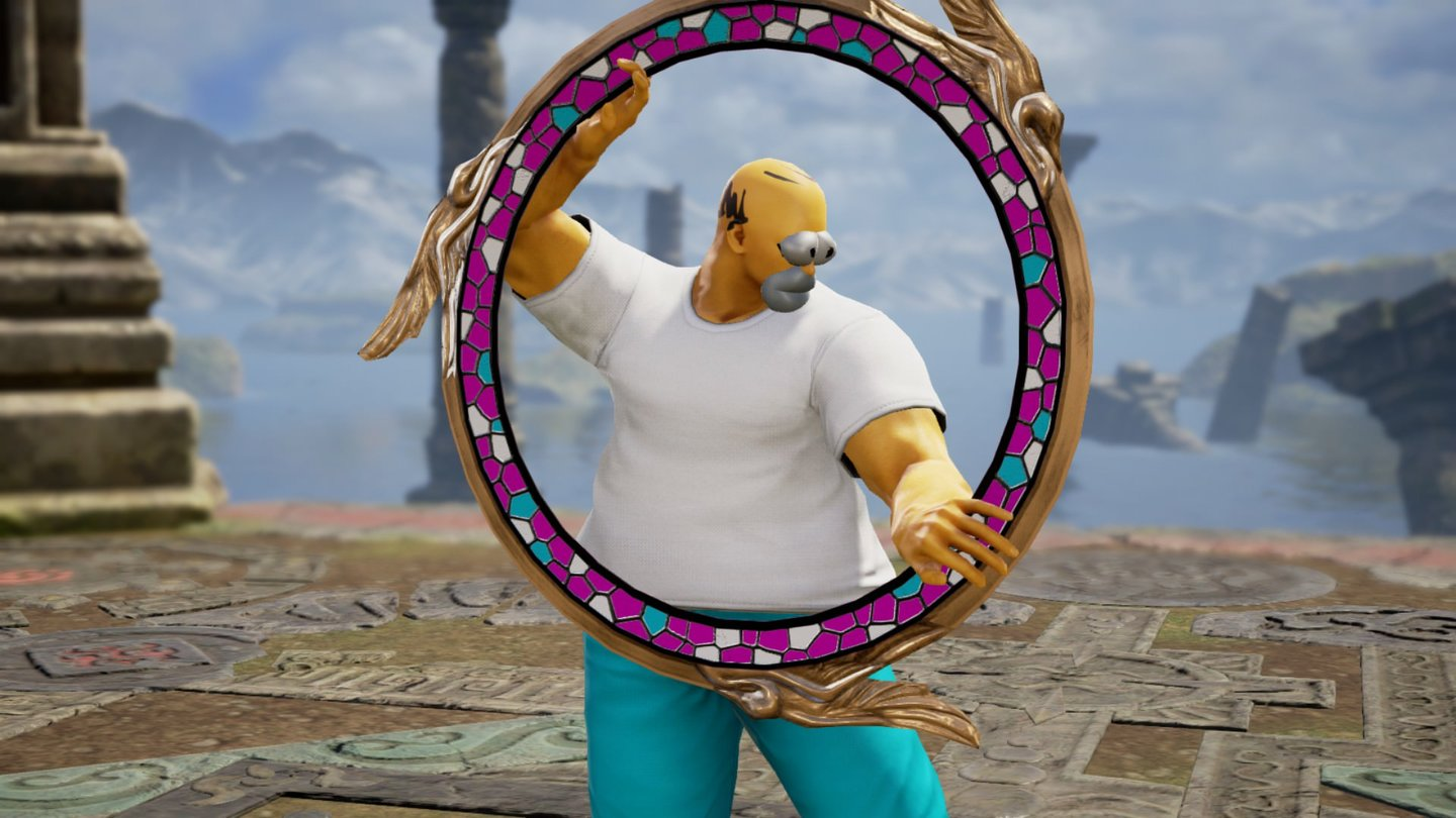 Soul Calibur 6 - Homer Simpson von CatchingZzzzs