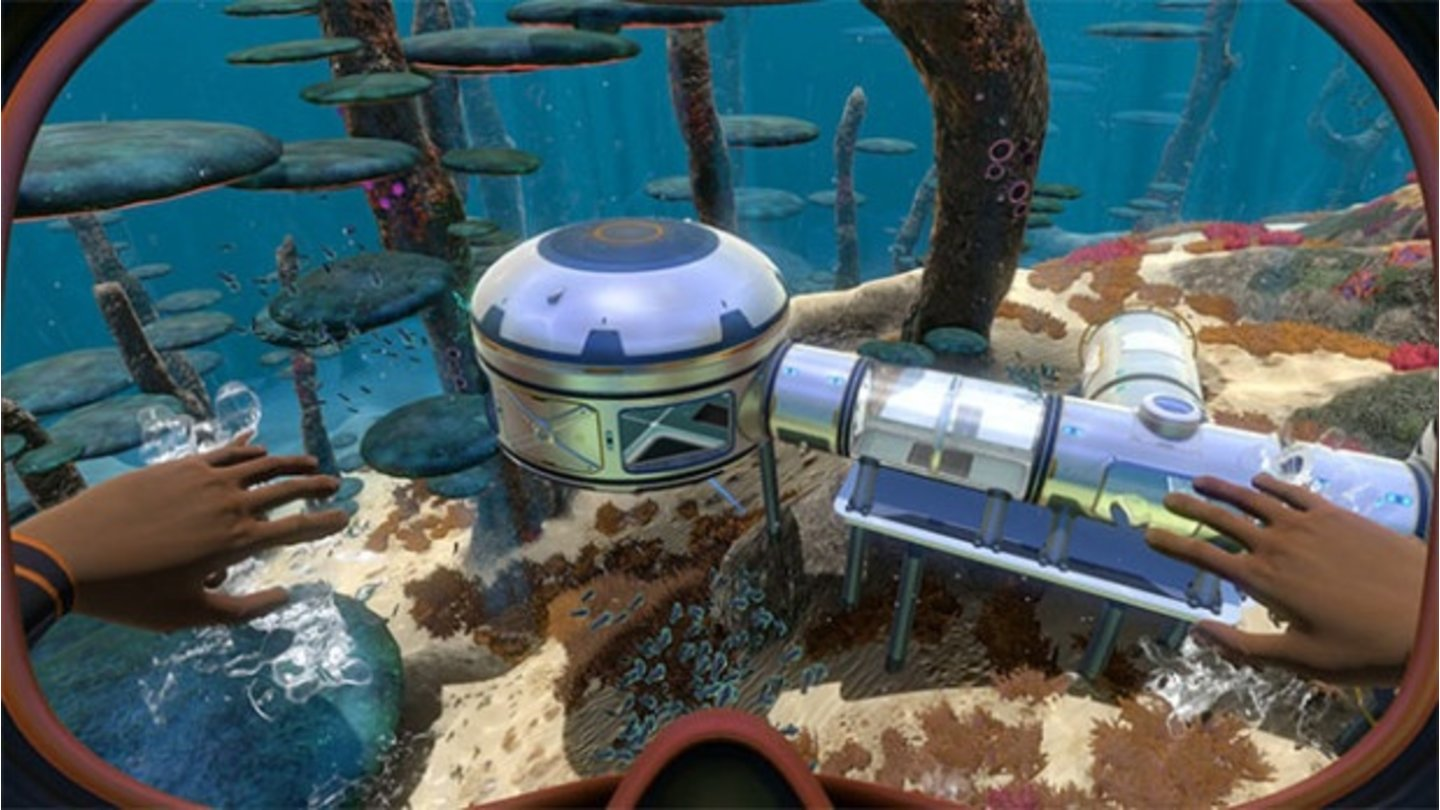 Subnautica - Screenshots zum Habitat-Update