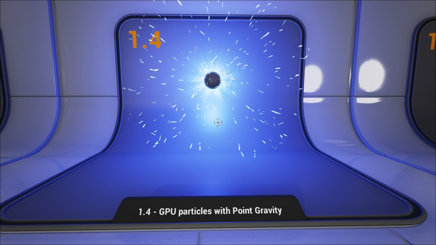 Unreal Engine 4 Particle-Demo