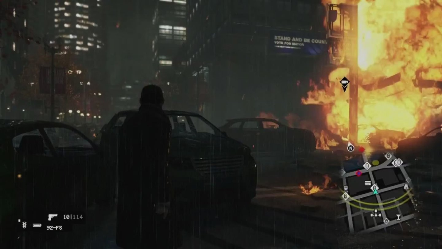 Watch Dogs - Bilder aus der E3-Gameplay-Demo