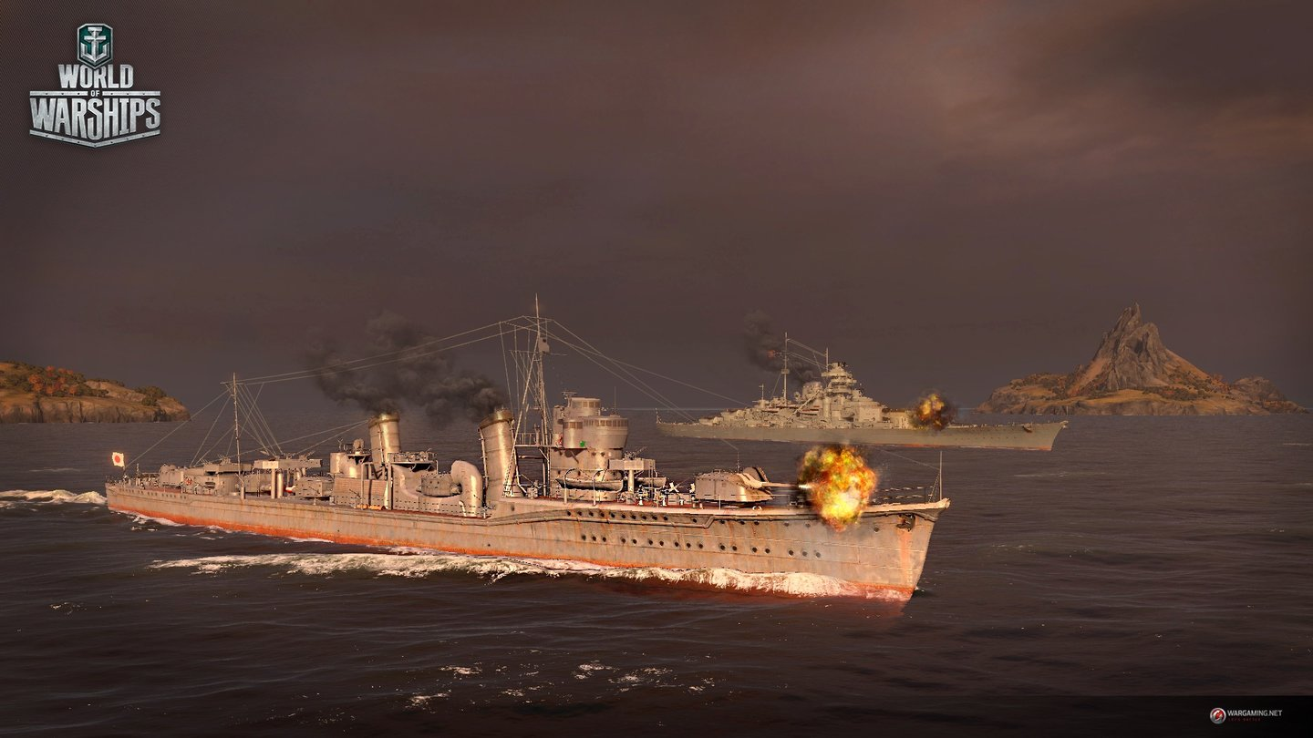 World of Warships - Screenshots zum Update 0.5.1