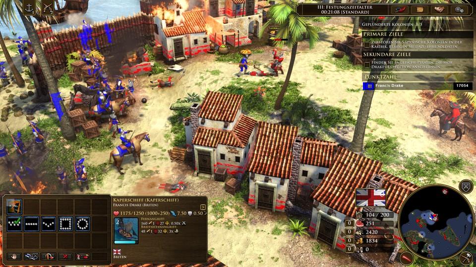 Age of Empires 3 sieht mit der Definitive Edition wirklich gut aus. Egal ob du in der Karibik kämpfst ...