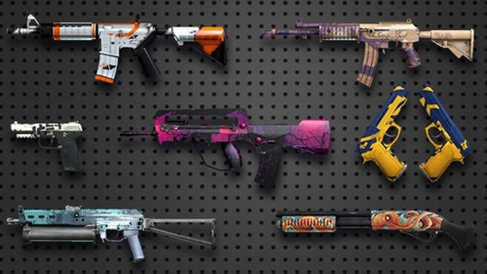 Counter-Strike: Global Offensive packt verschiedenste Waffen-Skins in Lootboxen. Belgische und niederländische Spieler können diese ab sofort nicht mehr öffnen.