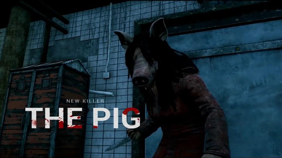 Dead by Daylight - Trailer zum Saw-DLC zeigt den neuen Killer The Pig im Schlachthaus