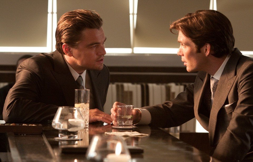 Leonardo DiCaprio und Cillian Murphy in Inception