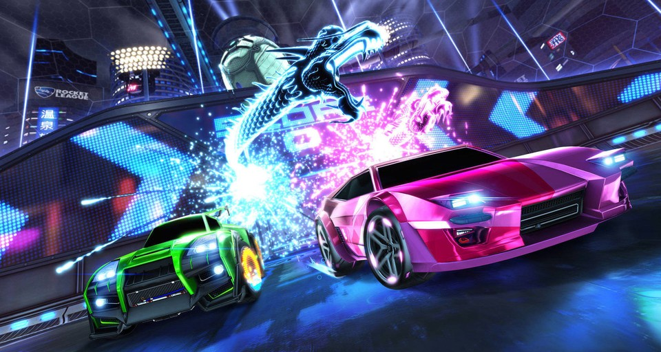 Rocket League - Velocity Crates liefern 80er-Jahre-Optik.