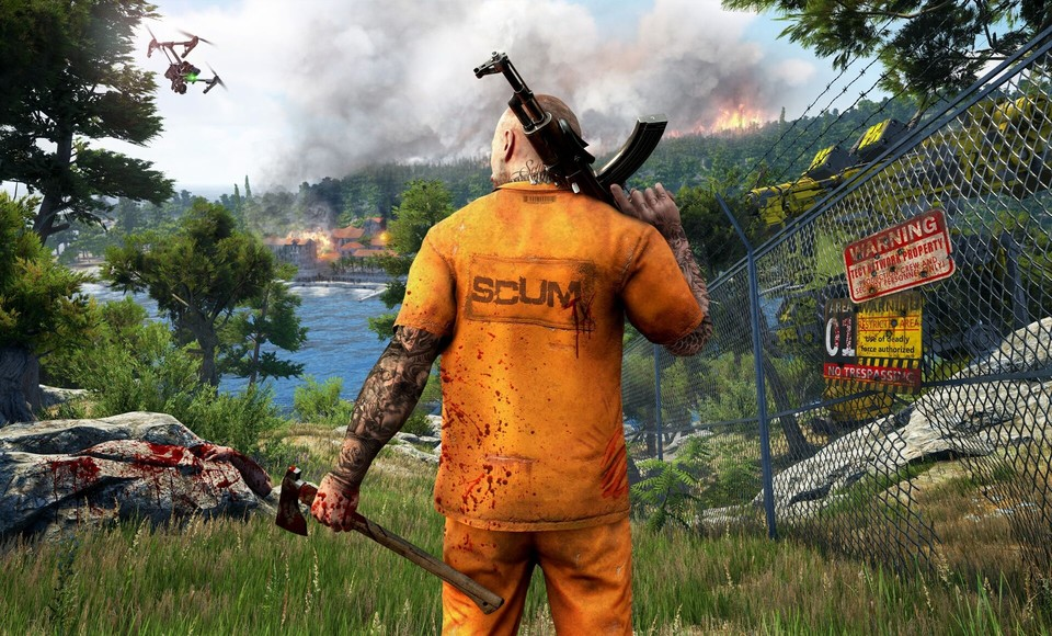 Scum startet Ende des Monats in den Steam Early Access.