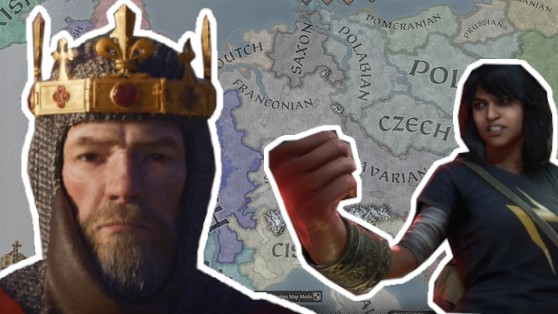 Crusader Kings überholt die Avengers in den Steam-Charts.