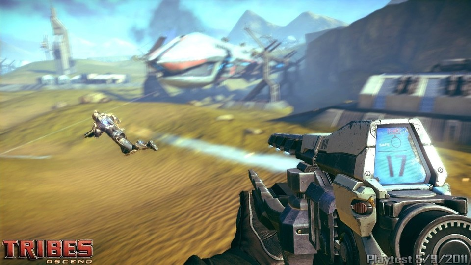Am 4. November startet die Beta des Multiplayer-Shooters Tribes: Ascend.