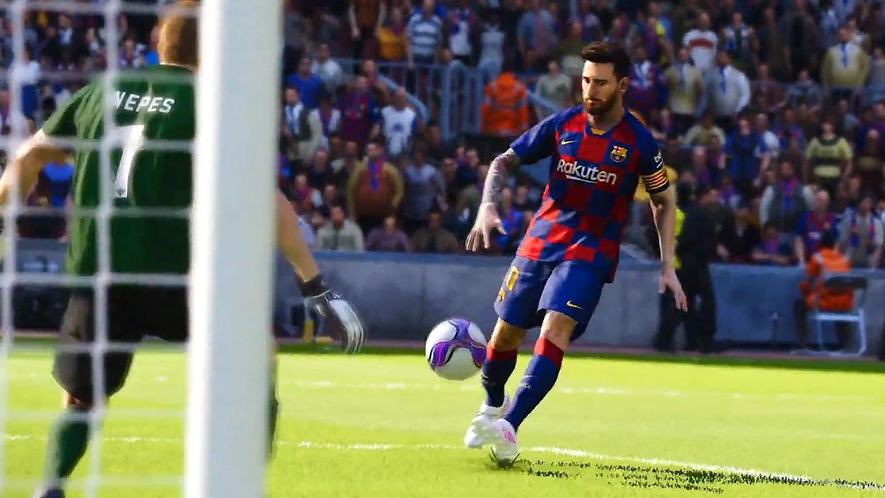 eFootball PES 2020 - E3-Trailer mit Messi, Ronaldinho & Co.