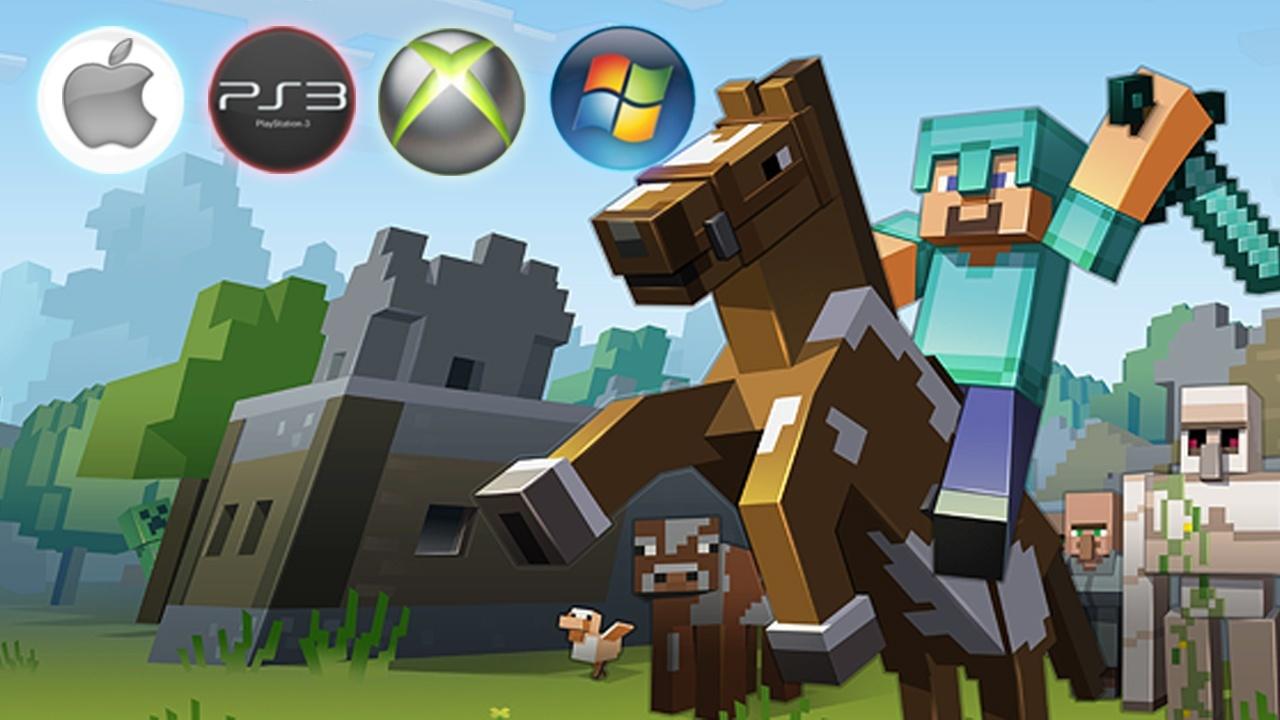 Minecraft PC Konsole Mobile Welche Version Kann Was GameStar - Minecraft spiele selber bauen