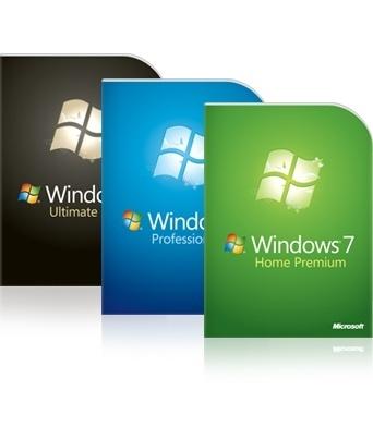 Windows 7 Versionen