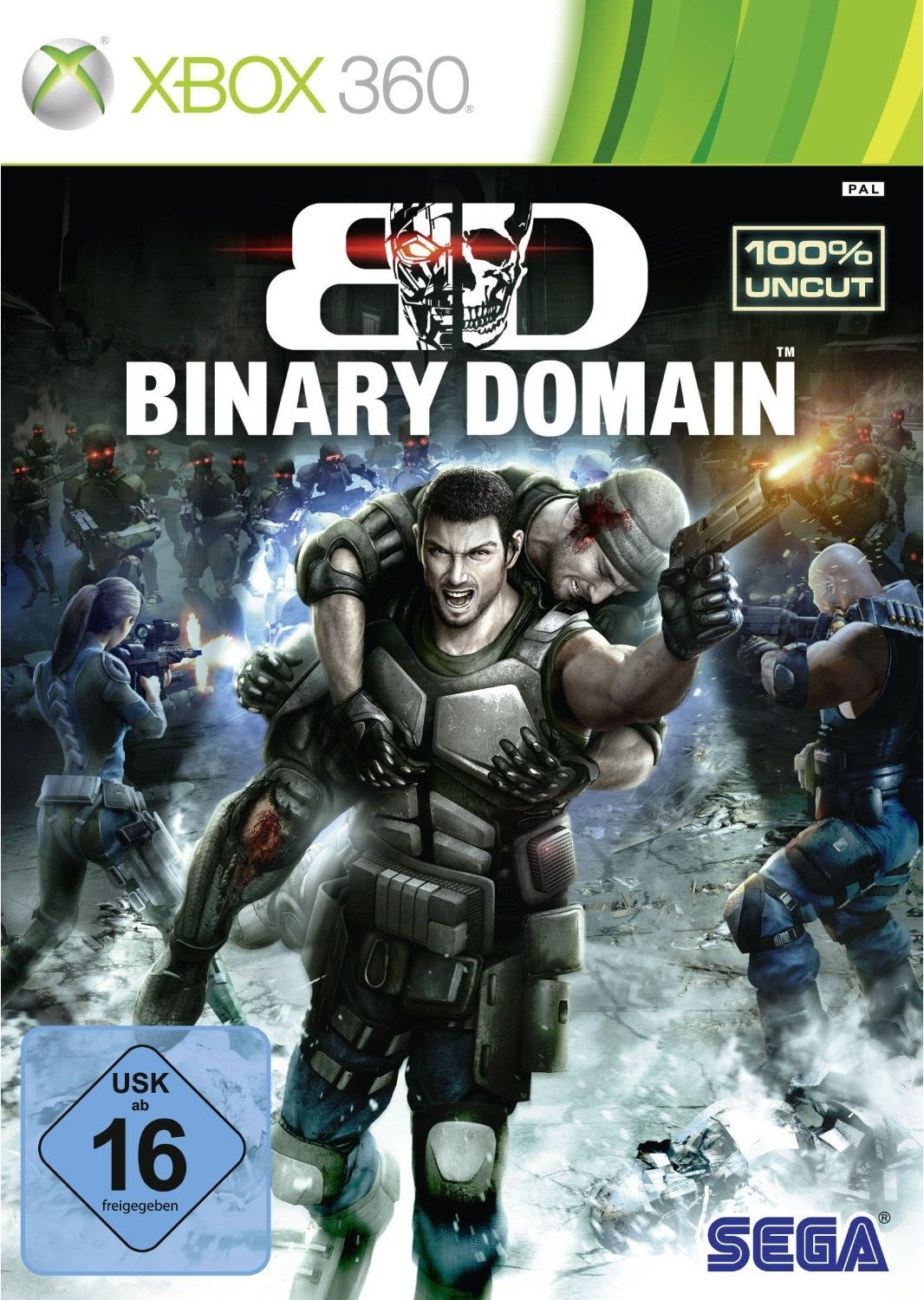 Cover zu Binary Domain - Xbox 360