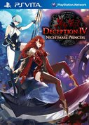 Cover zu Deception 4: The Nightmare Princess - PS Vita