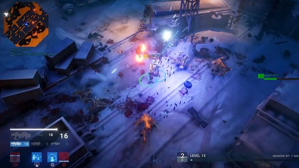Alienation - Gameplay-Demo vom Dead-Nation-Nachfolger
