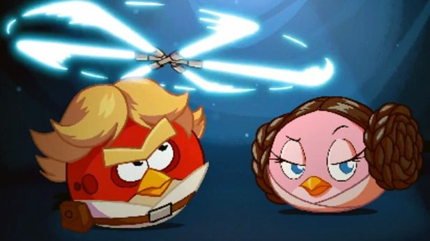 Traile zu Angry Birds Star Wars