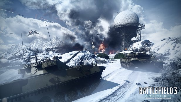 Battlefield 3: Armored Kill erscheint am 4. September 2012 für die PlayStation 3.