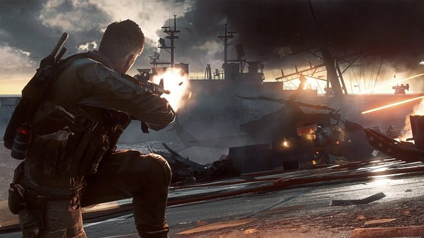 Battlefield 4 - E3-Gameplay-Trailer »Angry Sea« zeigt Singleplayer-Mission