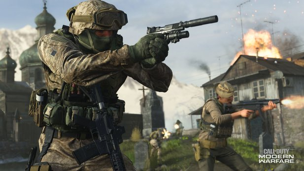Call of Duty: Modern Warfare hat für den Multiplayer ein umstrittenes Map-Design eingeführt.