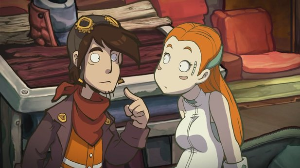 Gameplay-Video von Deponia