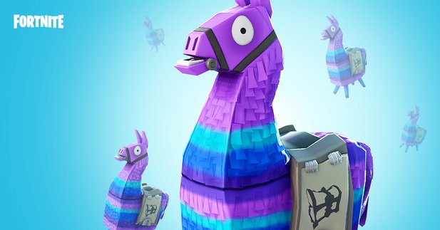 In Fortnite: Battle Royale gibt es jetzt Lamas.