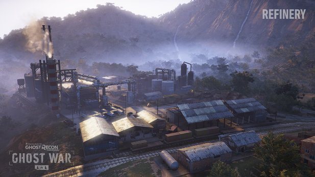 Ghost Recon: Wildlands - Die neue Raffinierie-Map.