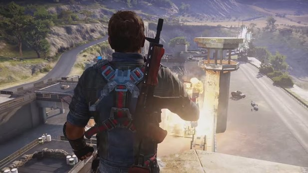 Just Cause 3 - Deutscher Gameplay-Trailer stellt Features vor
