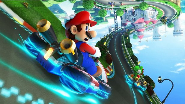 Test-Video von Mario Kart 8