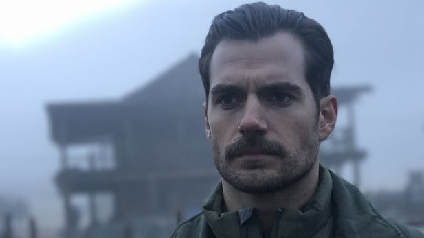 Henry Cavill in Mission Impossible: Fallout