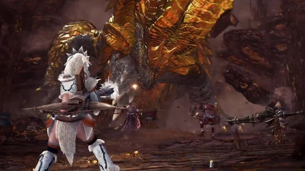 Monster Hunter World - Gameplay-Trailer zum Kulve Event