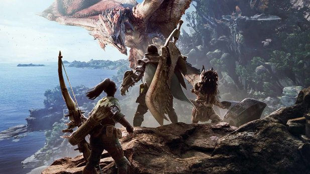 Monster Hunter World für PS4 und Xbox One bekommt einen Day One-Patch
