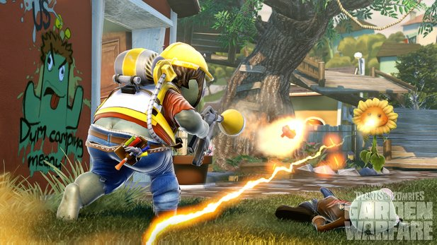 Plants vs. Zombies: Garden Warfare bietet keinen Singleplayer-Part.
