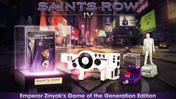 Saints Row 4 - Emperor Zinnyak's Game of the Generation Edition