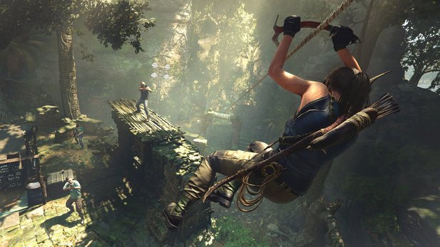 Shadow of the Tomb Raider bekommt auf der Xbox One X zwei Grafimodi spendiert.