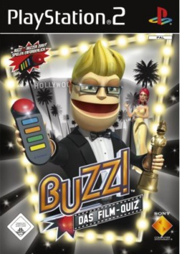 Cover zu Buzz! Das Film-Quiz