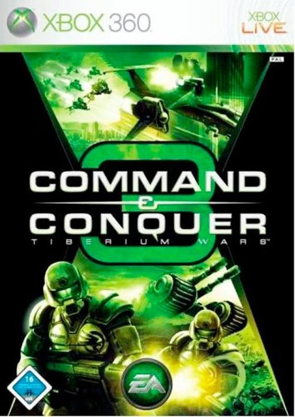 Cover zu Command & Conquer 3: Tiberium Wars