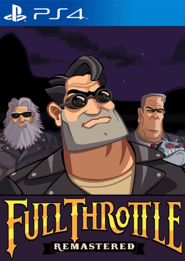 Cover zu Full Throttle Remastered