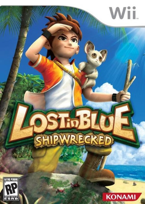 Cover zu Lost in Blue: Shipwrecked