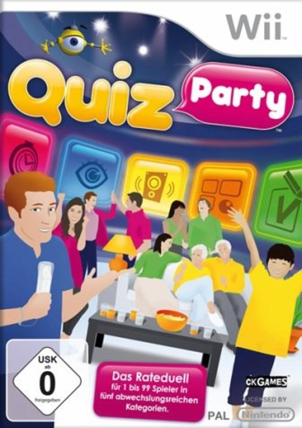 Cover zu Quiz Party