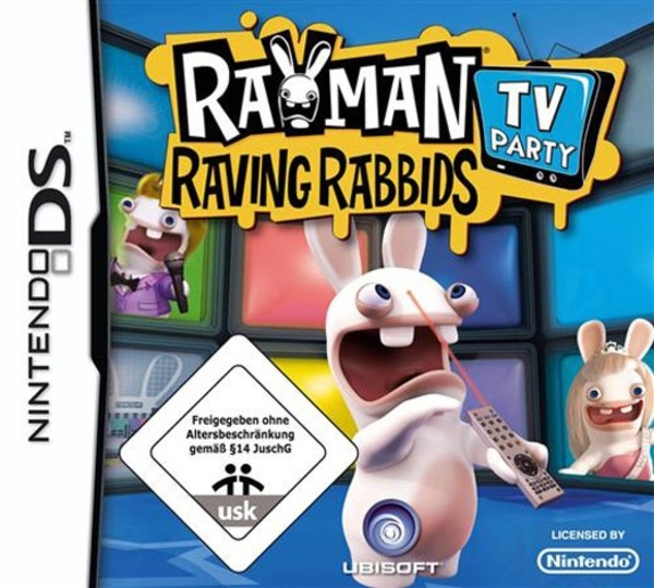 Cover zu Rayman Raving Rabbids TV Party