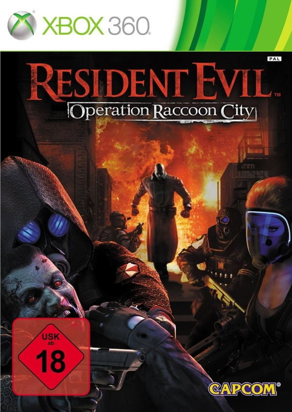 Cover zu Resident Evil: Operation Raccoon City