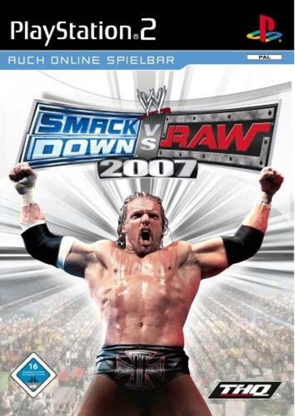 Cover zu WWE SmackDown vs. Raw 2007