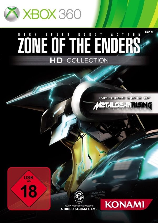 Cover zu Zone of the Enders HD Collection
