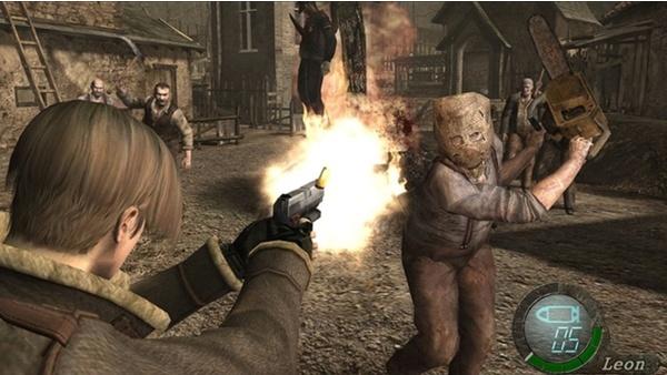 Resident Evil 4-Spieler erledigt Kettensägen-Gegner nur mit einer Tür