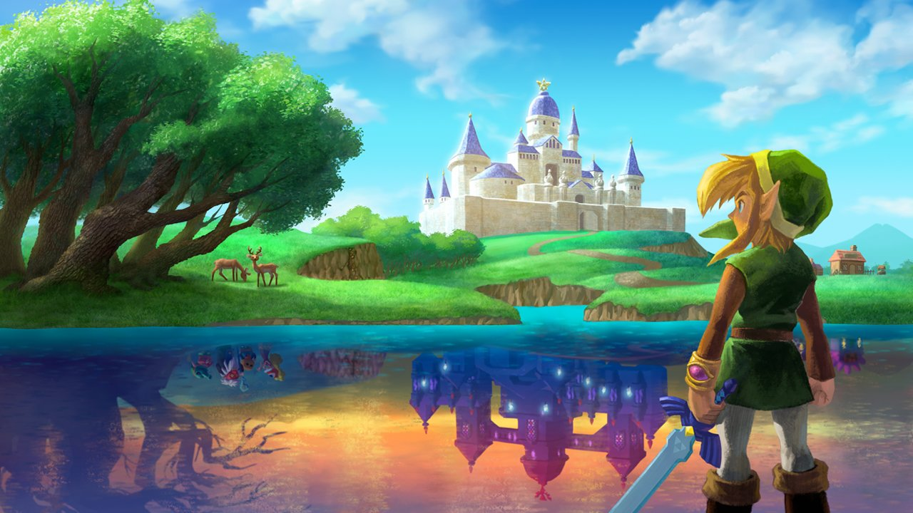 Zelda-Fan verlässt A Link Between Worlds-Map & findet ...