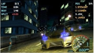 Need for Speed Underground Rivals PSP 4