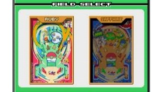 Selecting a playfield.