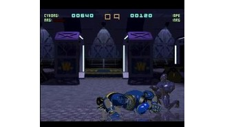 The ape droid smashed up