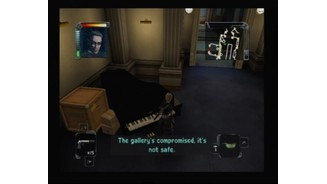 Using the piano to lure some of the guards in here